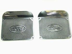 1948 1949 1950 1951 1952 Ford Pickup Running Board Step Plates Pair
