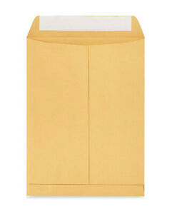 Shipping Mailers 9 X 12 Kraft Office documents Envelopes w Self Adhesive Flap