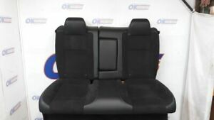 2018 Dodge Challenger Scat Pack Rear Seat Set Assembly Black Leather Suede