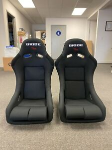 Bride Vios 3 Iii Black Seats Low Max Jdm Bucket Drift Race Racing Seat