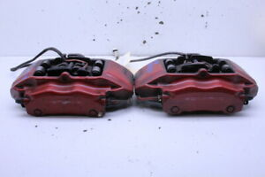 1999 2012 Porsche 911 996 997 Front Brake Calipers Pair Red Brembo Stk 20557