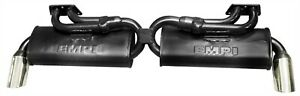 Empi 1 3 8 Inch Black 2 Tip Gt Exhaust For 1972 1974 Bus Or Type 4 0034830
