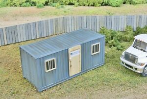 Walthers Scenemaster Mobile Construction Office Kit Ho