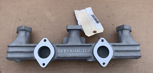 Offy Offenhauser Dual Carbs Early Dodge Plymouth Flathead Six 218 230 Cu In