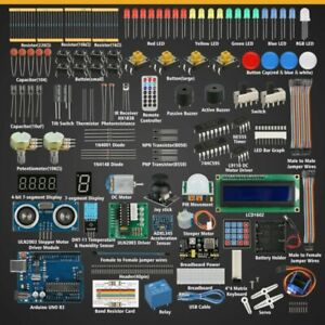 For Arduino Uno R3 Servo Processing professional Starter Learning Kit Useful