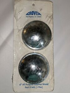 2 Grover 4 All Purpose Weather Air Horn Shield Part 1652 Air Horn 1600 1601