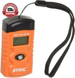 New Stihl Wood Digital Moisture Meter Lcd Display Quality Product For Firewood