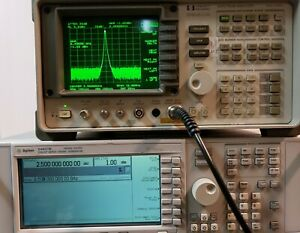 Hp Agilent Keysight 8560a Spectrum Analyzer 30hz 2 9ghz Opt 003 Ocxo
