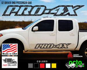 Fits Nissan Frontier Pro 4x 2x Sides Doors Decal Sticker Accessories Roof Rack