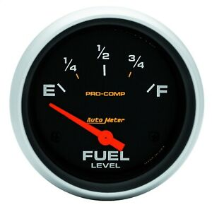 5417 Autometer 5417 Pro Comp Electric Fuel Level Gauge