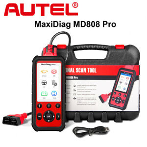 Autel Maxidiag Md808 Pro Full Systems Obd2 Auto Diagnostic Tool For Abs Airbag