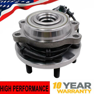 4wd Front Wheel Bearing Hub For 05 12 Nissan Frontier Pathfinder Xterra W Abs