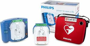 Philips Heartstart Aed Defibrillator Carry Case M5068a c02 New Sealed Dbl Box
