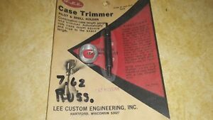 Vintage Lee Hand Priming Tool 7.62 Russian.quot;Pilot and Shell holder $11.99