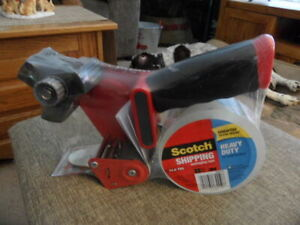 Scotch Shipping Packaging Tape Dispenser New Heavy Duty
