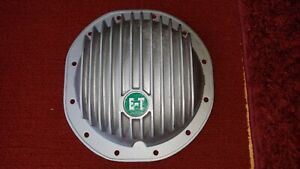 Et Finned Rear End Cover 12 bolt Chevy