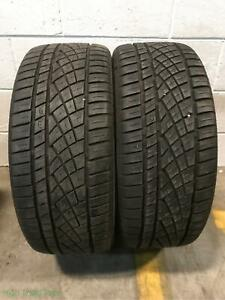 2x P225 40r18 Continental Extremecontact Dws06 9 32 Used Tires