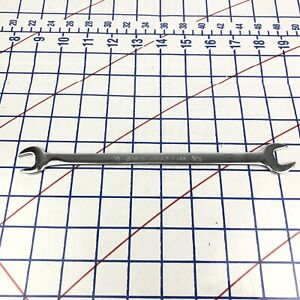 Snap on Tools Usa 9 16 x1 2 Sae Slim Low Torque Open End Wrench Spanner Lta1618