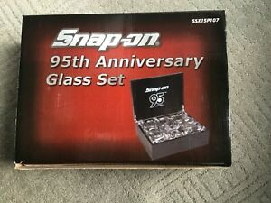 Snapon Tools 95 Anniversary Glass Set