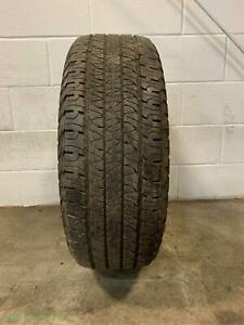 1x P245 65r17 Goodyear Fortera 7 32 Used Tire