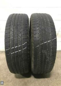 2x P245 70r17 Goodyear Fortera Hl 7 32 Used Tires