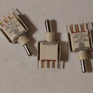 C k Sealed Subminiature Toggle Switch Spdt lot Of 3 Et03 0 4 Va