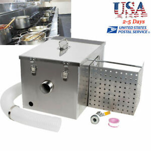 Automatic Stainless Steel Grease Trap Oil Separator Waste Water Treatment Clean