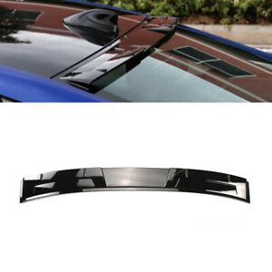 Fit For 2018 2019 2020 Honda Accord Rear Window Roof Wing Spoiler Glossy Black