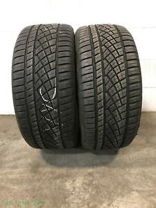 2x P235 45r17 Continental Extreme Contact Dws06 Sport 8 32 Used Tires