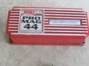 Msd Pro Mag Points Box 8147 Dragster Funny Car Drag Boat Alky Bae Ajpe