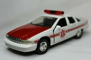 Road Champs 143 Scale 1997 Chevy Caprice Orange Co Ny Sheriff Custom Loose