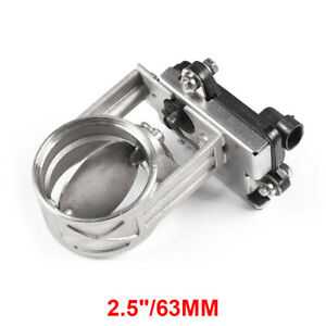 2 5 New Exhaust Cut Out Valve Electric Valve Unit For Exhaust Catback Downpipe