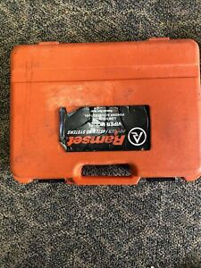 Ramset Viper Semi Automatic Low Velocity Fastening Tool With Case Euc