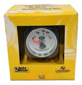 Auto Meter Nv 2 1 16 73 10 Short Sweep Electric Fuel Level Gauge