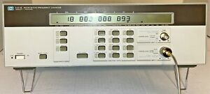 Hp agilent 5351b Microwave Freq Counter 10hz 26 5 Ghz