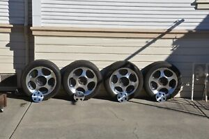 4 Mustang Cobra Tires 1996 1998 With Rims