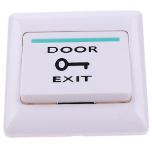 Exit Push Release Button Switch For Electric Magnetic Lock Door Access Contro Dl