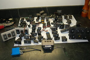 Land Rover Discovery 2 Giant Box Of Switches And Misc Electrical Parts 1999 2004