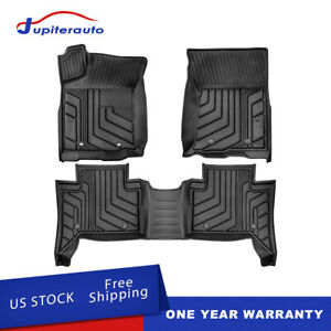Tpe Floor Mats Liners For 2016 2017 2018 2021 Toyota Tacoma Trd Pro All Weather