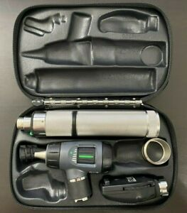 Welch Allyn 3 5v Led Macroview Otoscope Ophthalmoscope Diagnostic Set Handle