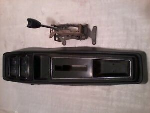 Chevy Nova Rally Ss Center Console Gauges Shifter Oem 1975 1976 1977 1978 1979