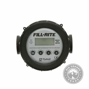 Used Fill rite 820 1in 2 20 Gpm 8 76 Lpm Nutating Disc Fuel Transfer Meter