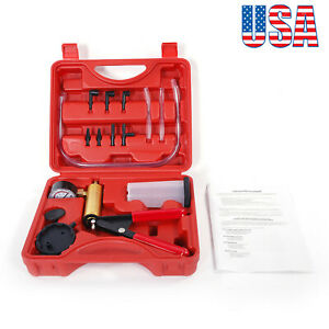 Manual Simple Vacuum Pump With Carry Case Usa Shipping