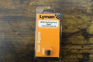 Lyman #3VF Hunting Front Sight .560 3 8quot; Dovetail Gold Bead #3030063 $14.99