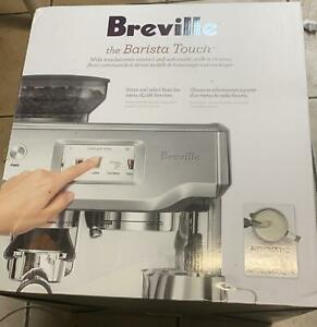 Breville Barista Touch Automatic Espresso Machine Stainless Steel $840.00