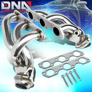 For 99 04 Ford Mustang 3 8 3 9l V6 T 304 Stainless Steel Header Exhaust Manifold