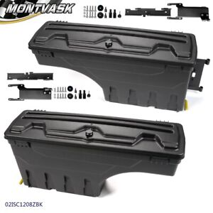 For 2015 2019 Ford F 150 Rear Truck Bed Storage Box Toolbox Left Right Side