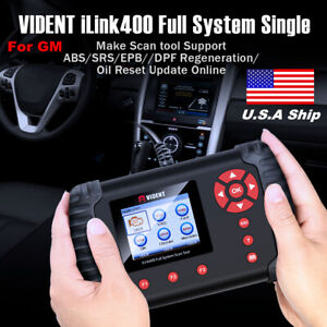 Vident Ilink400 Full System Obd2 Diagnostic Tool Fit For Gm Abs srs epb dpf