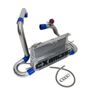Cxracing Fmic Double Core Intercooler Piping Kit For 07 09 Mazdaspeed3 1st Gen