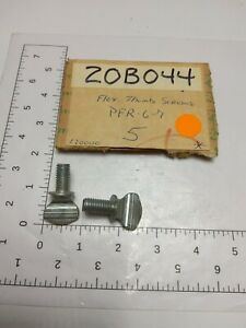 Lot Of 2 Drain Cleaner Sewer Auger Thumb Screw Replacement Part nos